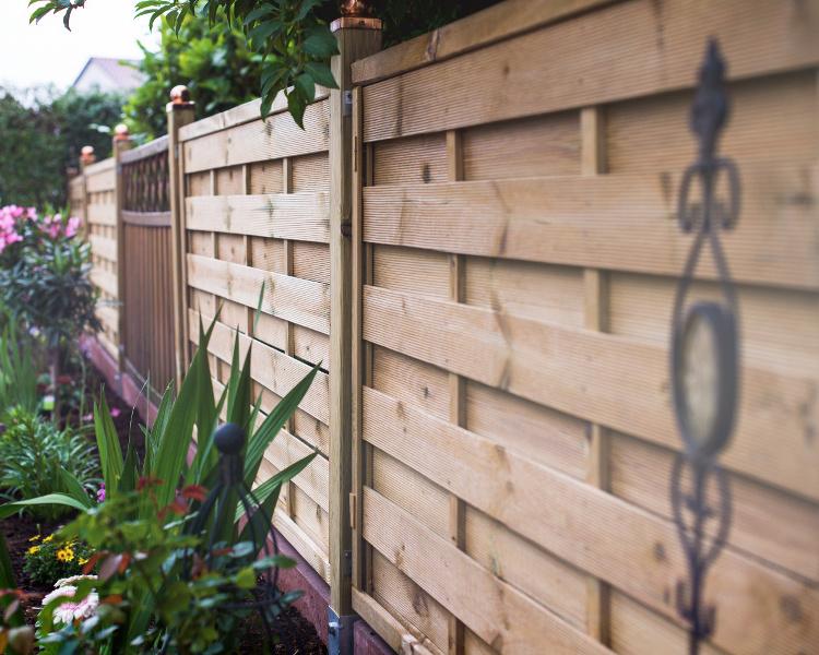 Garden Fence Installation - TTS Garden Services