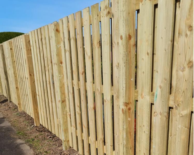 TTS Garden Services - Fencing